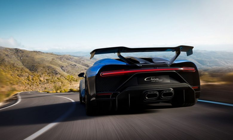 Photo of APWORKS additively produces the exhaust tailpipe for the brand-new Bugatti Chiron Pur Sport