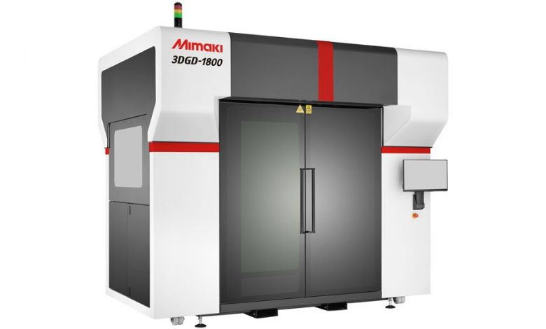 Photo of Mimaki launches new Mimaki 3DGD-1800 large format 3D printer
