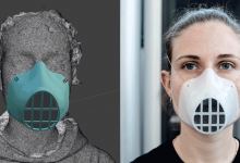 Photo of WASP shares open source processes for production of personalized PPE masks and helmets
