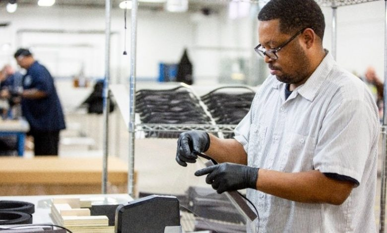 Photo of Ford using in-house 3D printing to make parts for personal protective equipment
