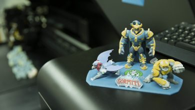 Photo of Your (Kid's) next Gormiti collection was 3D printed on a Stratasys J750