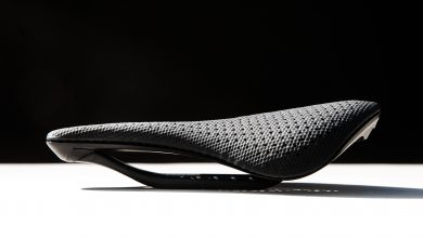 Photo of 3D printed bike saddles, a newcomer to consumer AM