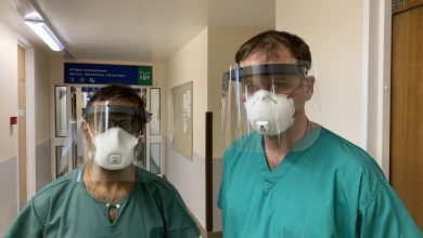 Photo of University of Nottingham designs certified 3D printed face shields for NHS