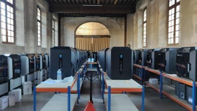 Photo of Parisian hospital system installs 60 Stratasys 3D printers to fight COVID-19