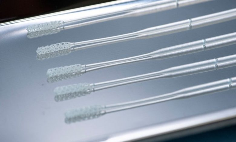 Photo of Stratasys will support Origin by delivering millions of 3D printed nasopharyngeal swabs