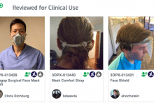 Photo of NIH 3D Print Exchange hosts curated selection of PPE for COVID-19