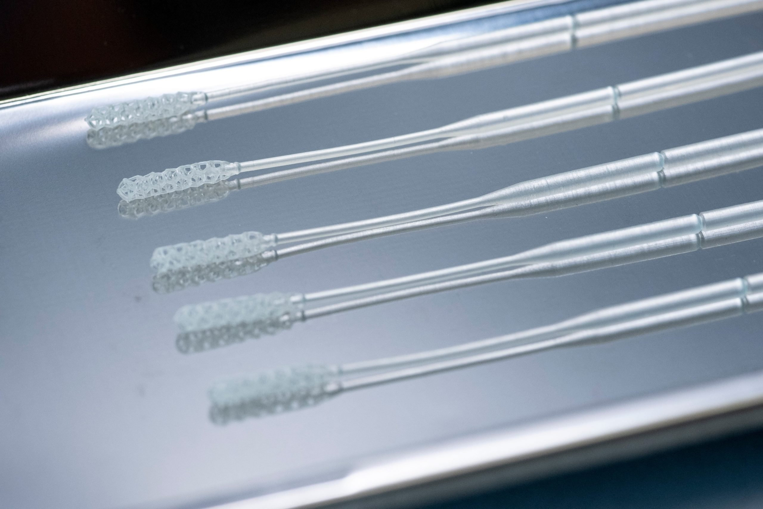 Origin 3D printed swabs