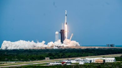Photo of The era of commercial human space flight begins today