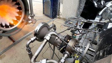 Photo of ESA and ArianeGroup begin testing new 3D printed thrust chamber