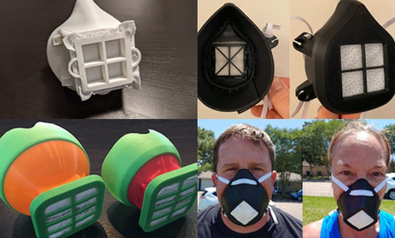 Photo of America Makes unveils top 'Fit to Face' 3D printed mask challenge designs