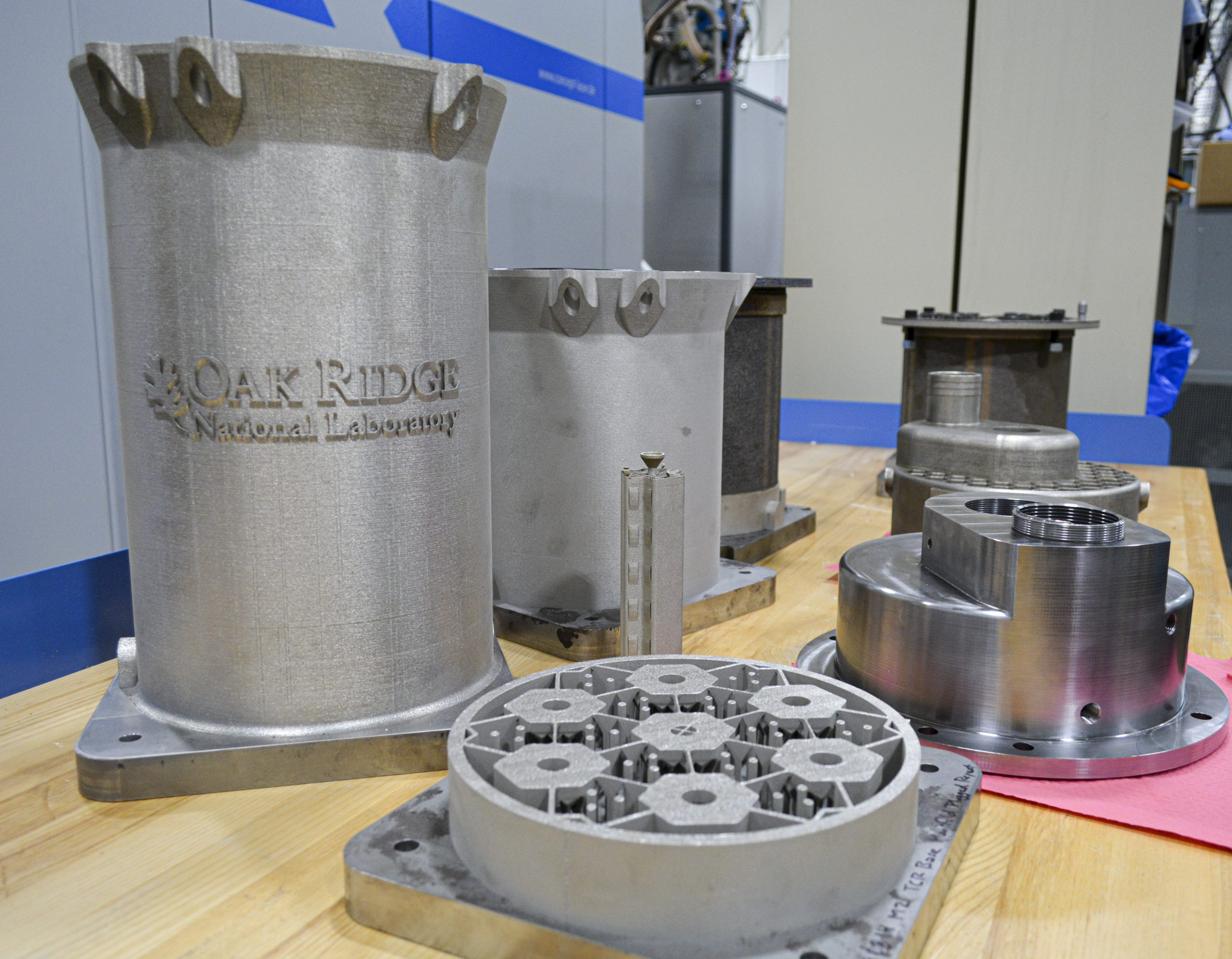 3D printed nuclear reactor