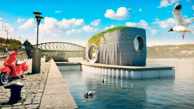Photo of Czech Republic to welcome first 3D printed house, and it floats!
