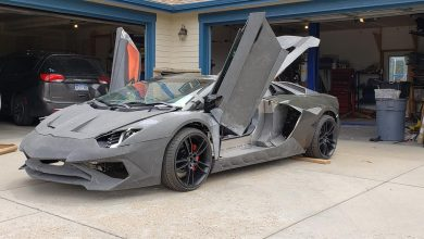 Photo of 3D printed Lamborghini goes for first spin