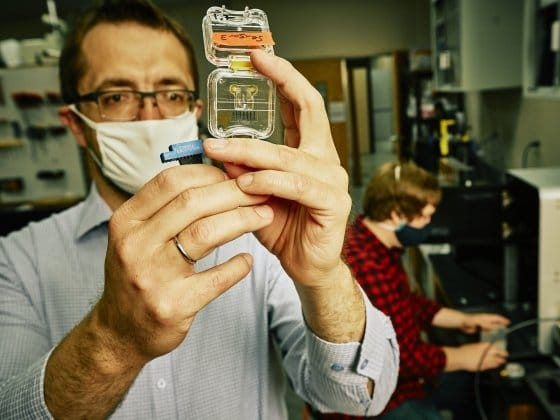Photo of Montana researchers achieve breakthrough in 3D printed microfluidic chips