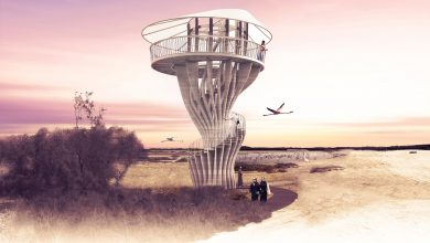Photo of Supernatural Concre(a)tion, a realistic project for a 3D printed observation tower