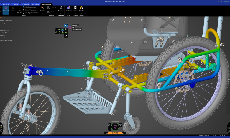 Photo of All new Ansys Discovery again improves design workflow, reduces engineering labor
