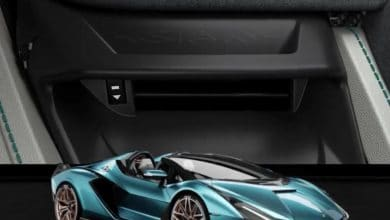 Photo of 3D printed air vents allow extreme customization in new Lamborghini Sián Roadster