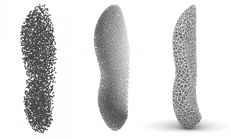 Photo of Advancing 3D printed footwear beyond aesthetics and into performance