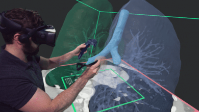 Photo of Realize Medical's VR 3D modeling software integrates with Logitech stylus