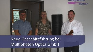 Photo of Multiphoton Optics GmbH appoints new managing directors