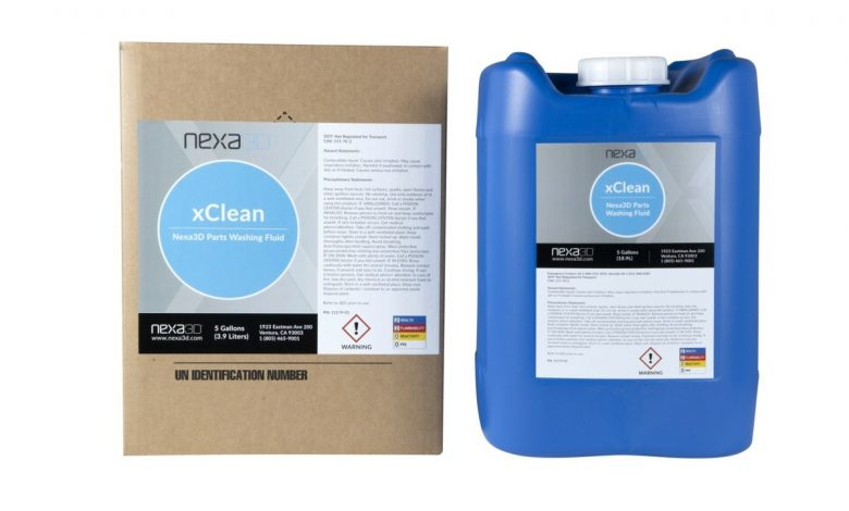 Photo of Nexa3D launches xCLEAN, an eco-friendly cleaning solvent for resin-based 3D printers