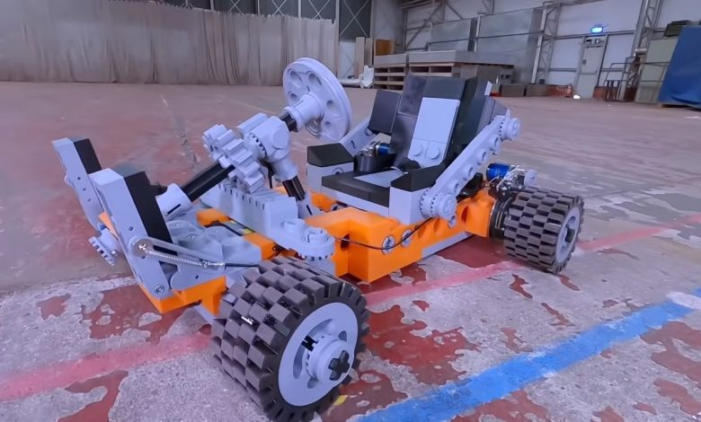Photo of Yes, you can 3D print a Lego Go-Kart and ride in it like Super Mario