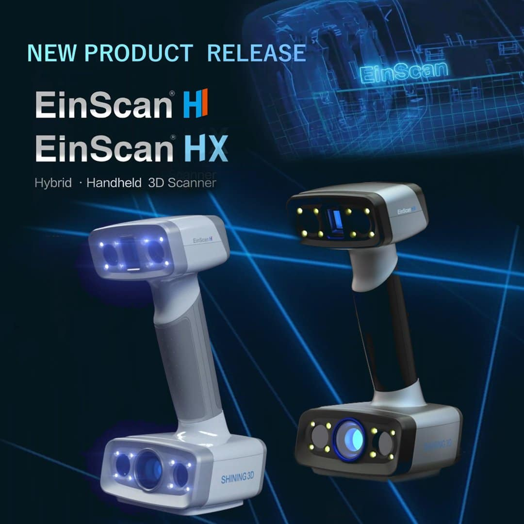 EinScan hybrid light Shining 3D