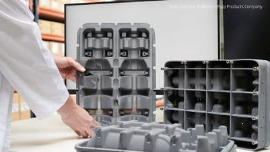 Photo of HP introduces advanced tooling for molded fiber packaging