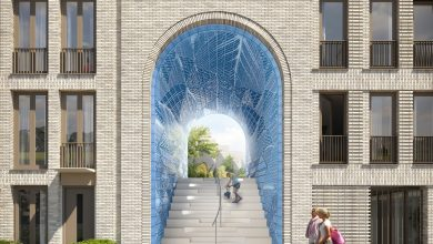 Photo of Studio RAP 3D prints 4,000 ceramic tiles for stunning New Delft Blue construction project