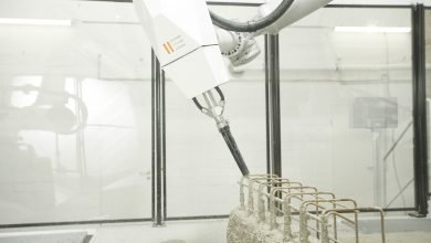 Photo of Aeditive presents Concrete Aeditor 3D printer for construction