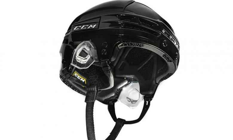 Photo of Custom 3D printed hockey helmet liner by Carbon and CCM takes the ice