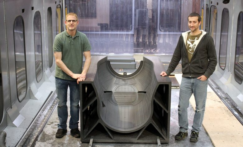 Photo of Thermwood and General Atomics save $50K by 3D printing large-scale tool