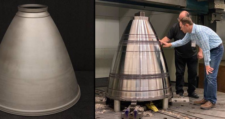 "Photo of NASA to ""RAMPT up"" Artemis program by DED 3D printing SLS rocket engine nozzles"