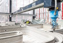 Photo of PERI builds the first 3D printed residential building in Germany