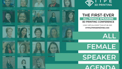 Photo of Add TIPE 3D Printing, industry's first all-female conference, to your calendars