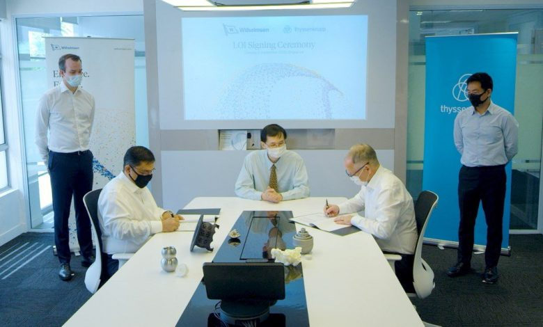 Photo of Custom manufacturing marine parts: thyssenkrupp signs LoI to partner with Wilhelmsen Ships Services