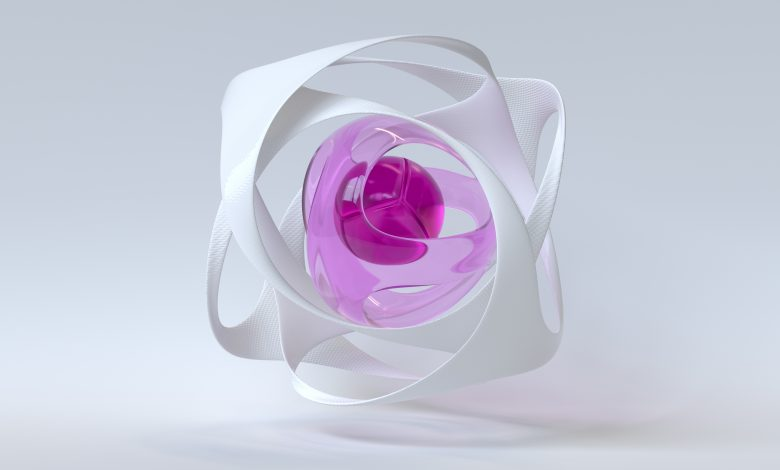 A product printed with Evonik's new brand name plastics