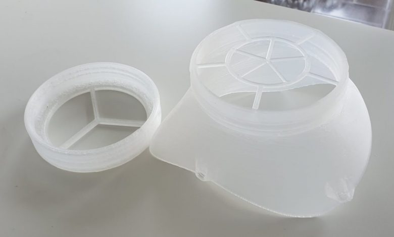 Photo of CAR3D, the first European 3D printing project to create COVID-19 protection equipment