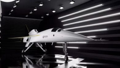 Photo of Boom Supersonic rolls out XB-1 aircraft with 21 titanium 3D printed parts from VELO3D