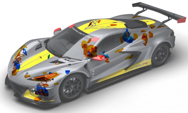 Photo of Chevrolet racing adopts 3D printed parts to support over 80,000 miles of racing