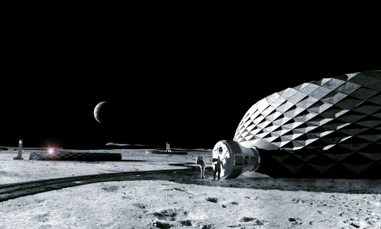 Photo of ICON's Project Olympus looks at 3D printed Moon habitats for NASA Artemis