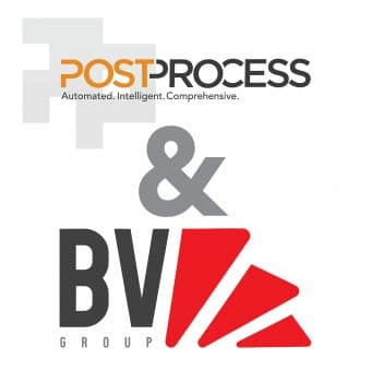 Company logos. The partnership promises enhanced workflow benefits for mass production.