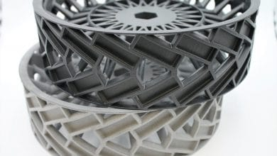 Photo of HP also partners with AMT for post processing of polymer 3D printed parts