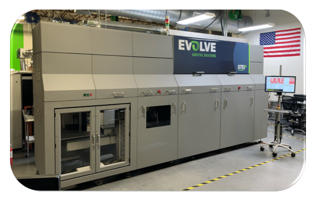 First SVP 3D printer shipped by Evolve Additive to customer in Europe