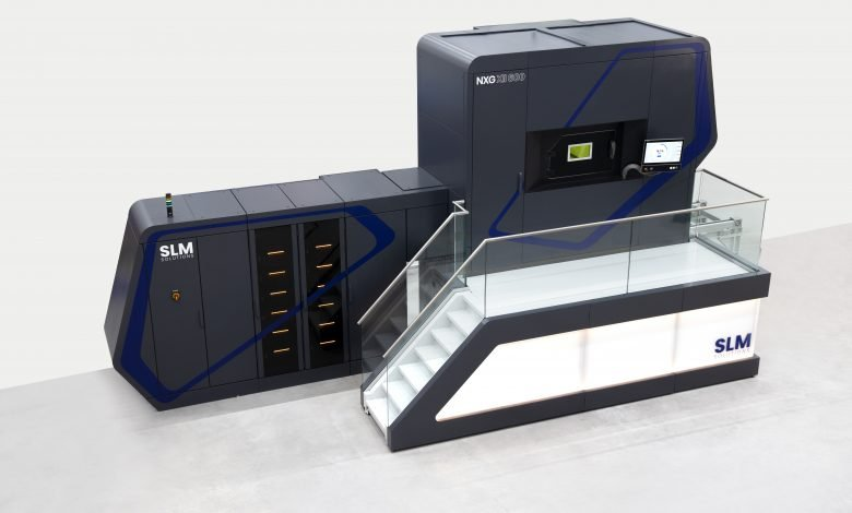 SLM Solutions' NG XII 600 system