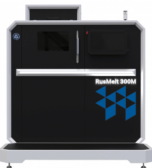 The RusMelt 300 SLM printer.