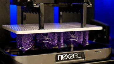 Nexa3D's printer, which will be deployed with Keystone to manufacture products for the dental industry.