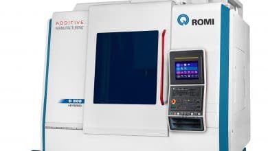 The Romi hybrid manufacturing machine.