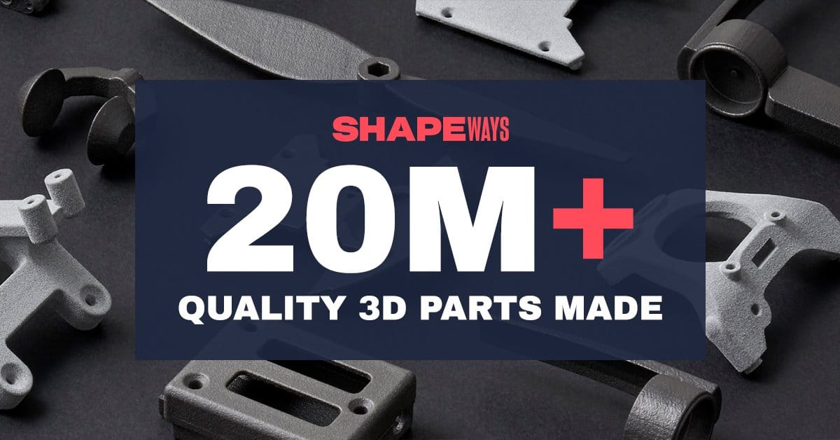 Shapeways completes SPAC merger with Galileo Acquisition Corp.
