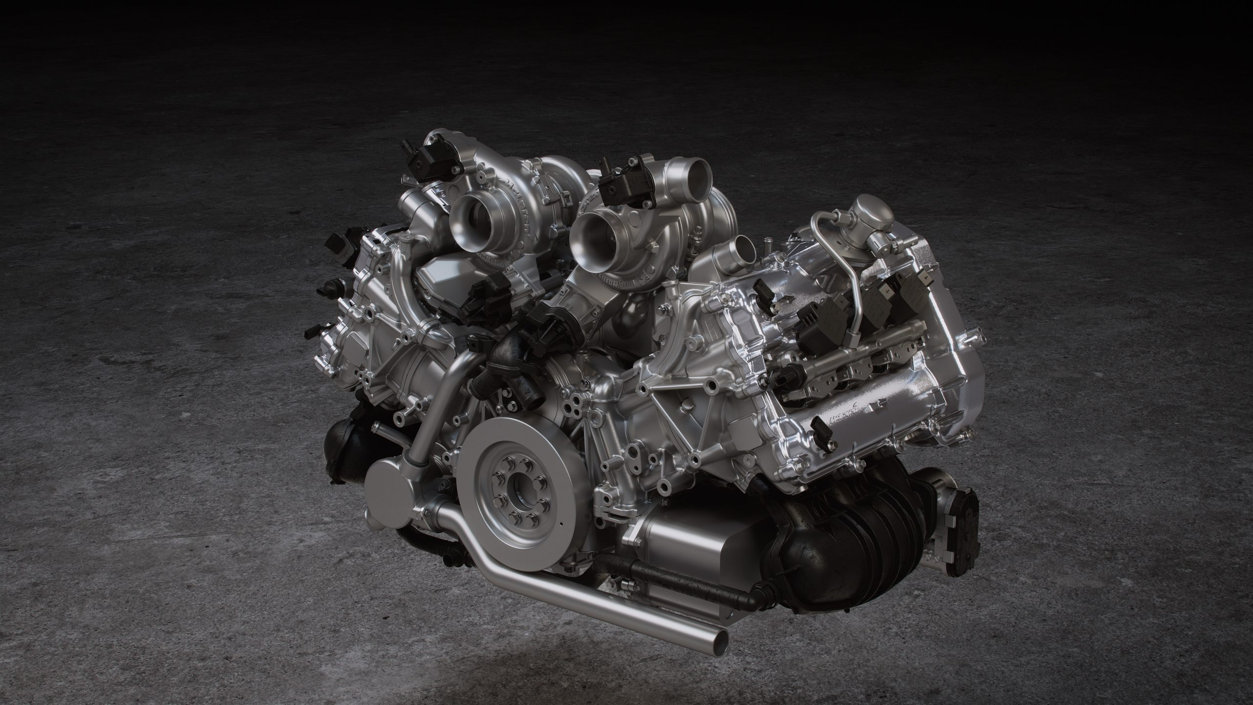 hybrid McLaren Artura V6 engine is produced using 3D printed cores